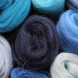 Merino mixed pack  blue - 100g