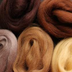 Merino mixed pack brown - 100g