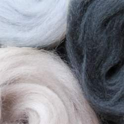 Merino mixed pack grey - 100g