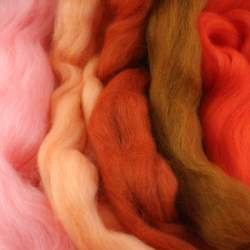 Merino mixed pack  orange - 250g