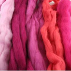 Merino mixed pack  pink - 250g