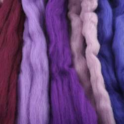 Merino mixed pack purple - 250g