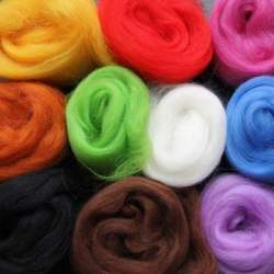 Merino Tops 10 colour mixed pack  - 500g