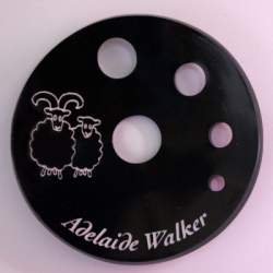 Concave Spinners' Diz Black