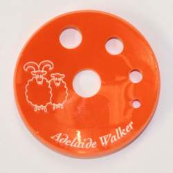 Concave Spinners' Diz Orange