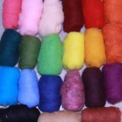 Bergschaf 25 colour mixed bag - 250g