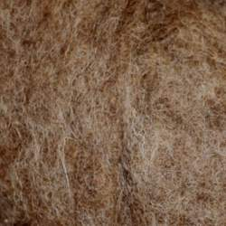 Bergschaf wool natural darker mid brown 100g