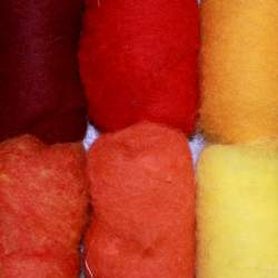 Bergschaf Red/Orange/Yellow mixed bag - 60g
