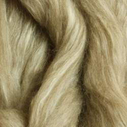 Oatmeal Blue Faced Leicester/Tussah Silk - 100g