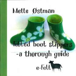 Felted Boot Slippers by Mette Ostman