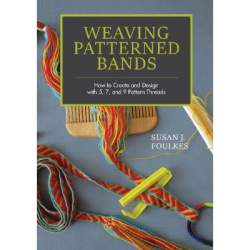 Weaving Patterned bands by Susan J Foulkes