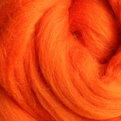 Merino Top Bright Orange  - 100g