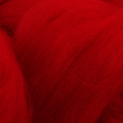 Merino Top Bright Red  - 100g
