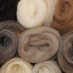 British wool mixed pack - 500g