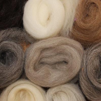 British wool mixed pack - 500g