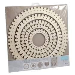 Trimits Circular Weaving Frames - 5 pieces