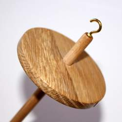 Drop spindle - 35-39g - Oak