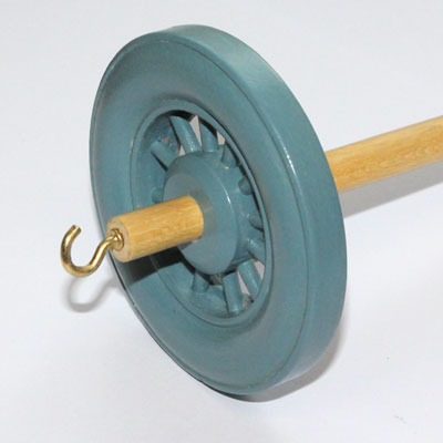 Drop spindle - 35g to 38g - Duck Egg Blue
