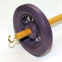 Drop spindle - 35g to 38g - Lavender