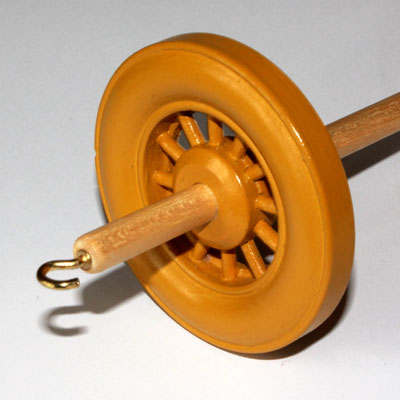 Drop spindle - 35g to 38g - Mustard