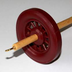 Drop spindle - 35g to 38g - Plum