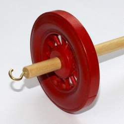 Drop spindle - 35g to 38g - Red