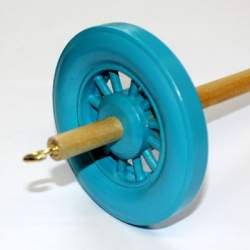Drop spindle - 35g to 38g - Turquoise