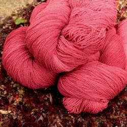 Merino lace weight yarn 100g - Claret