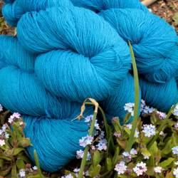 Merino lace weight yarn 100g - Kingfisher