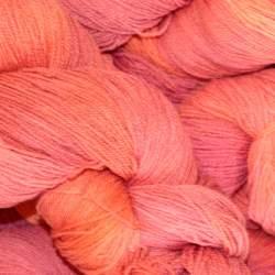 Merino lace weight yarn 100g - Sunset