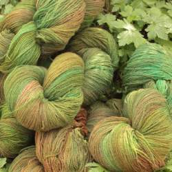 Merino lace weight yarn 100g - Woodland