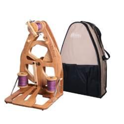 Ashford Joy 2 Spinning Wheel - Single Treadle & Bag