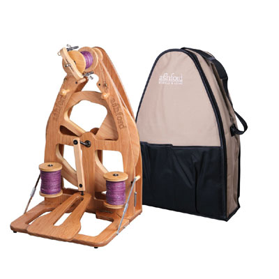 Ashford Joy 2 Spinning Wheel - Single Treadle & Bag