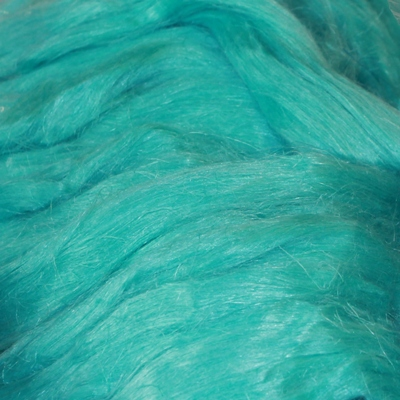 Flax / Linen top Turquoise - 50g