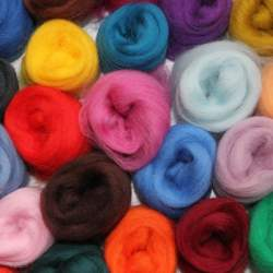 Merino Tops 52 colour mixed pack  - 1300g