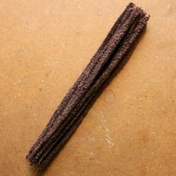 Brown Pipe Cleaner - pack of 25