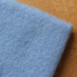 Sky Blue  Merino wool prefelt - 50cm × 50cm