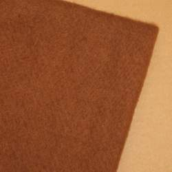 Brown Merino wool prefelt - 50cm × 50cm