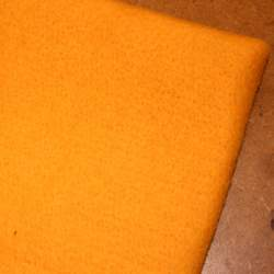 Gold Merino wool prefelt - 50cm × 50cm