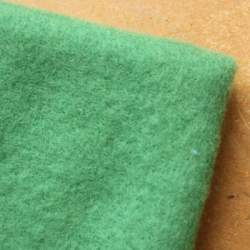 Green  Merino wool prefelt - 50cm × 50cm