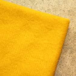 Mustard Merino wool prefelt - 50cm × 50cm