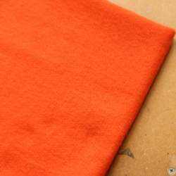 Orange Merino wool prefelt - 50cm × 50cm