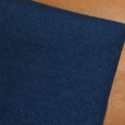 Petrol Blue Merino wool prefelt - 50cm × 50cm