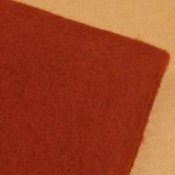 Rust Merino wool prefelt - 50cm × 50cm
