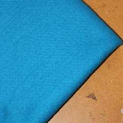 Sea Blue Merino wool prefelt - 50cm × 50cm