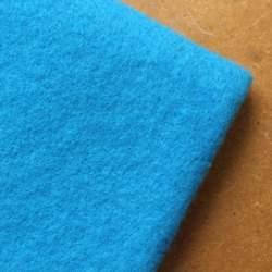Turquoise  Merino wool prefelt - 50cm × 50cm