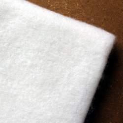 Ecru Merino wool prefelt - 50cm × 50cm