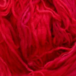 Space Dyed Pencil Roving - Ruby - 50g