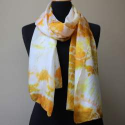 Mandalay Silk paj scarf length 177cm x 45cm