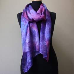 Bukhara Silk paj scarf length 195cm x 45cm